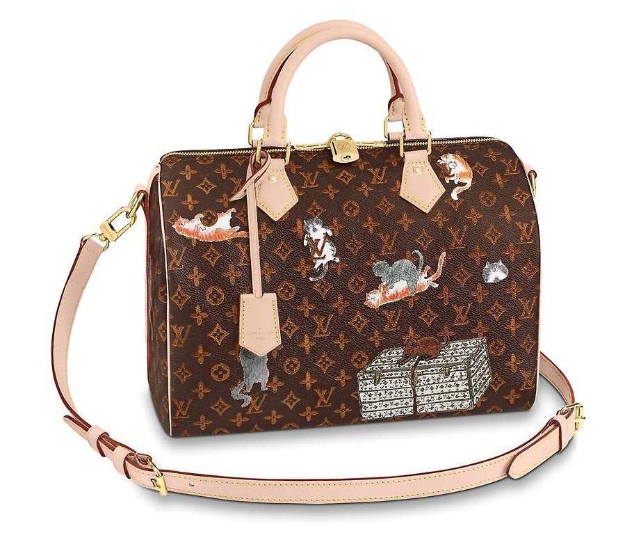 Photo: Louis Vuitton Catogram Collection