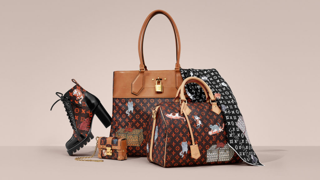 Louis Vuitton Grace Coddington Catogram Collection
