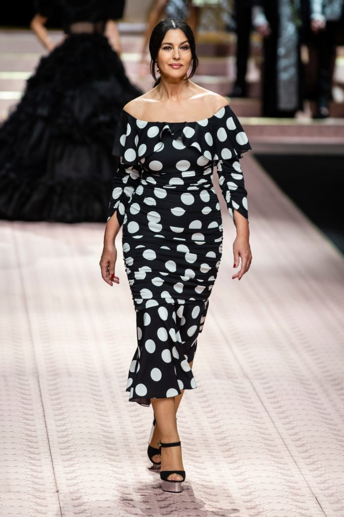 Dolce and Gabbana Spring 2019 Polka Dot Trend