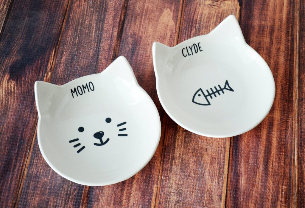 Etsy Cat Food Bowls