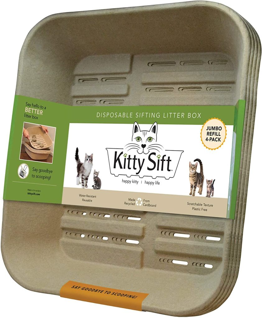 Kitty Sift Disposable Litter Box
